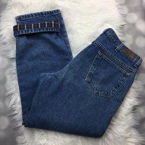 LL Bean Blue Jeans Mens Size 34/30